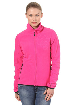 BENCH Paige Zip Fleece Sweatshirt fuchsia purple BLE 2955
