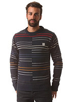 BENCH Phasar Knit Sweat total eclipse