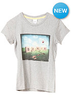 BENCH Photo Graphic S/S T-Shirt grey marl