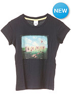 BENCH Photo Graphic S/S T-Shirt total eclipse
