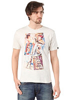 BENCH Postcard S/S T-Shirt sleet marl