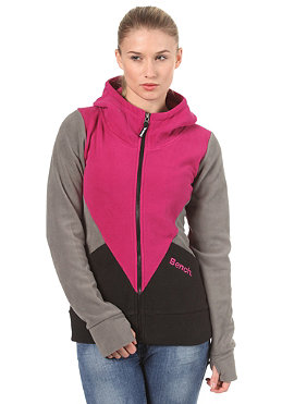 BENCH Ramos Hooded Zip Fleece festival fuchsia BLE 3002