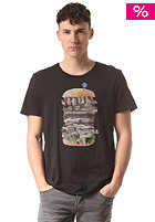 BENCH Street Food S/S T-Shirt jet black