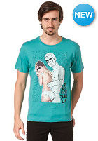 BENCH Stunner S/S T-Shirt porcelan green