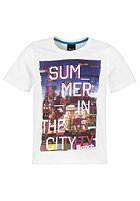 BENCH Summer City S/S T-Shirt bright white
