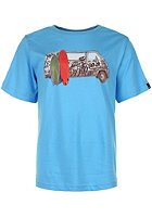 BENCH Surf Wagon S/S T-Shirt aquarius
