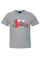 BENCH Surf Wagon S/S T-Shirt grey marl