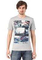 BENCH Synchro S/S T-Shirt grey marl