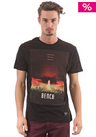 BENCH Taking Over S/S T-Shirt black marl