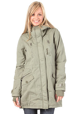BENCH Tara Parka Jacket deep lichen green BLK 1118