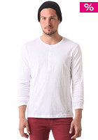 BENCH The Standard Henley Longsleeve bright white
