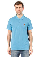 BENCH Tidie Polo S/S Shirt cendre blue