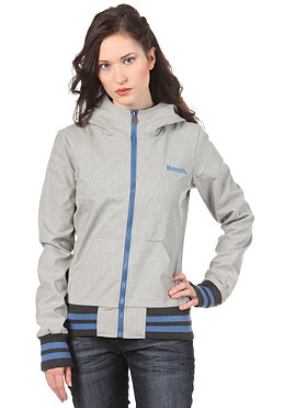 BENCH Trinity Jacket medium grey marl BLK 1538