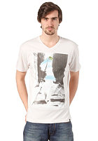 BENCH Urban Surfer S/S T-Shirt white sand