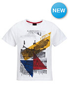 BENCH Winged S/S T-Shirt bright white