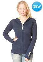 BENCH Womens Abercorn Hooded Zip Sweat DRESS BLUE