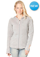 BENCH Womens Abercorn Hooded Zip Sweat grey marl