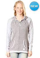 BENCH Womens ACK Hooded Zip Sweat steeple gray