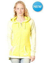 BENCH Womens ACK Hooded Zip Sweat SULPHUR SPRING