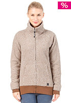 BENCH Womens Airmyn Wool Zip shitake 