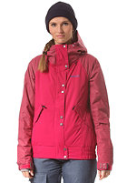 BENCH Womens Alexi Jacket cerise