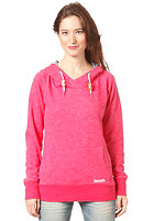BENCH Womens Allanshaw Hooded Sweat rose red