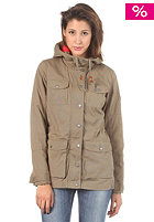 BENCH Womens Alpen Jacket dusky green