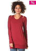 BENCH Womens Apsanti Longsleeve tibetan red