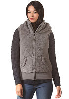 BENCH Womens Arctie Vest smoked pearl