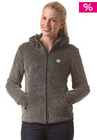 Womens Arisoft Hooded Zip Sweat jet black