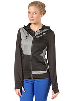 BENCH Womens Atha Sweat Jacket jet black