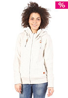 BENCH Womens Aughton Hooded Zip sleet marl