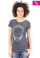 BENCH Womens Awaba S/S T-Shirt mid denim