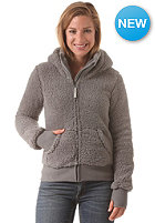 BENCH Womens Baa II Hooded Zip Sweat smoked pearl