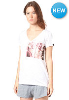 BENCH Womens Barngate S/S T-Shirt BRIGHT WHITE