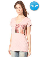 BENCH Womens Barngate S/S T-Shirt mellow rose