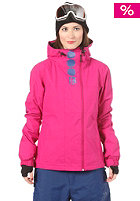 BENCH Womens Becky Block Jacket fuchsia red
