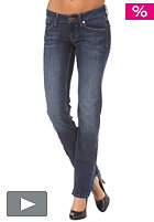 BENCH Womens Becky Straight Pants mid worn blue