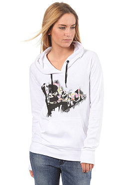 BENCH Womens Bernese Hooded Sweat white