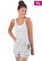 BENCH Womens Boin Top medium grey marl
