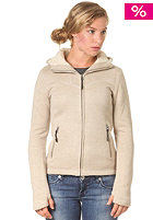BENCH Womens Bonded Fire Fleece Jacket chinchilla
