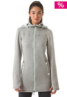 BENCH Womens Bradiestar Knit Sweat grey marl