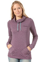 BENCH Womens Burgess Sweat Shirt vintage violet marl