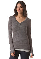 BENCH Womens Buttonit Longsleeve smoked pearl