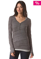 BENCH Womens Buttonit smoked pearl