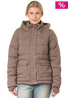 BENCH Womens Cabin Jacket walnut marl