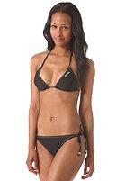 BENCH Womens Cassie Triangle Bikini Set jet black