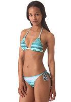 BENCH Womens Cassie Waves n Raves Triangle Bikini Set hawaiian ocean