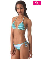 BENCH Womens Cassie Waves n Raves Triangle Bikini Set hawaiian ocean