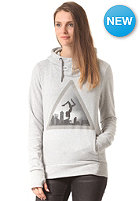 BENCH Womens Celet Hooded Sweat grey marl
